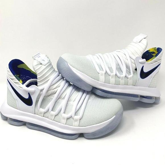 official photos 25c9b 8bdb0 Nike Zoom KD10 Golden State Warriors - Boys Women